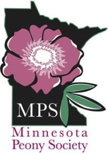 Logo with Minnesota Peony Society